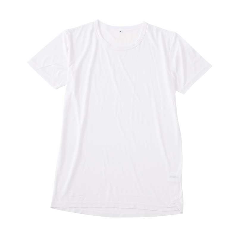 〈AN COOL〉半袖丸首シャツ(旭化成素材使用)