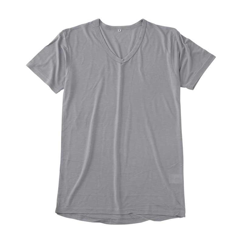 〈AN COOL〉半袖V首シャツ(旭化成素材使用)