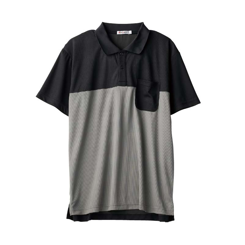 〈AN LIFE〉SPEEDRY切換えポロシャツ