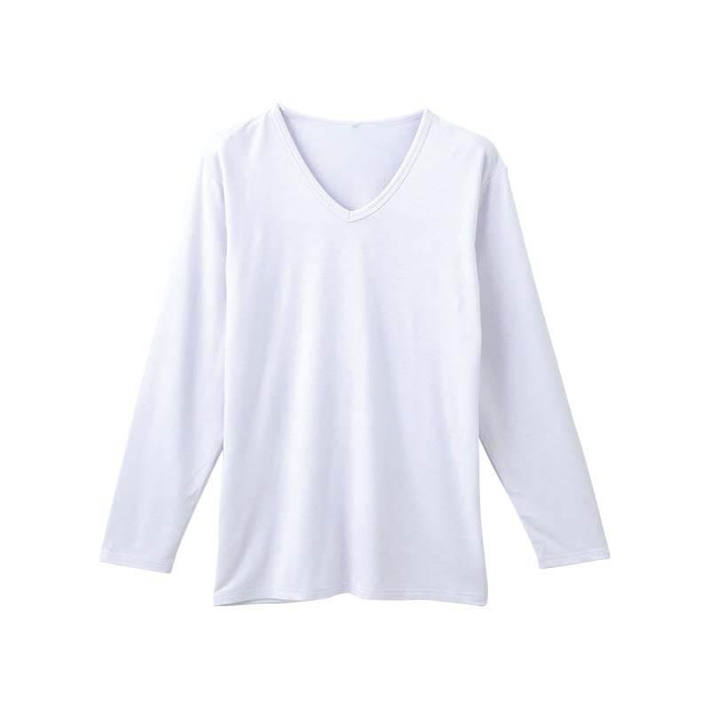 半袖V首シャツ超軽衣